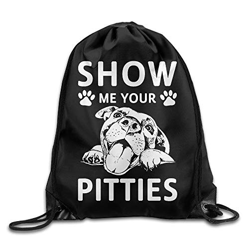 sexy world Show Me Your Pitties Pitbull Beam Mouth Backpack Sport Bags Fenjaak Customize Novelty World-beam