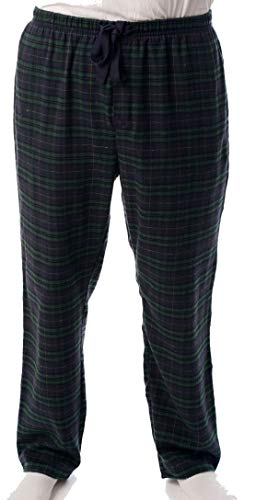 #followme Herren Flanell-Pyjama - Plaid Pyjamahose für Herren - Lounge & Sleep PJ Hose - - Small (Männer Für Sleep-lounge-hosen)