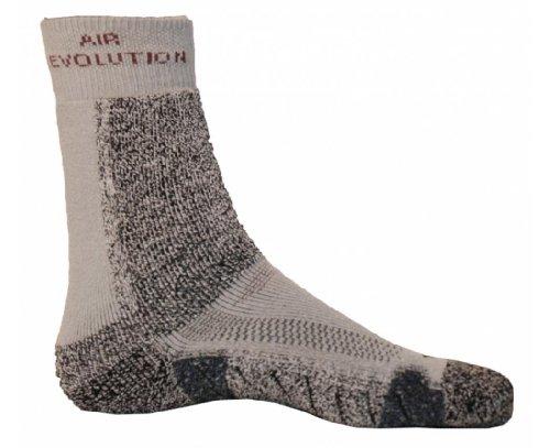 Arizona Socke (Meindl Damen und Herren air Revolution Socken grau, Größe:40-43 (M))