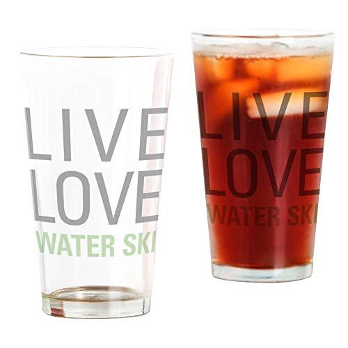 CafePress Trinkglas, 454 ml Trinkglas durchsichtig