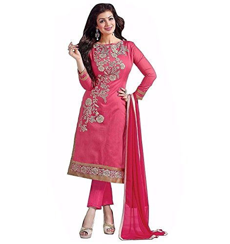 Woman style woman\'s Embroidery Gorgette Anarkali Dress Material