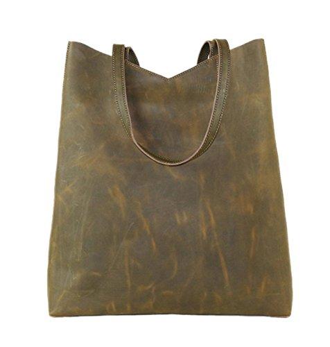 Insun ,  Damen handtaschen , Grün - 18 Yellowish-green - Größe: One Size