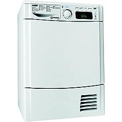 Indesit EDPE G45 A1 ECO (FR) Autonome Charge avant 8kg A+ Blanc sèche-linge - Sèche-linge (Autonome, Charge avant, Pompe à chaleur, Blanc, boutons, Rotatif, 112 L)