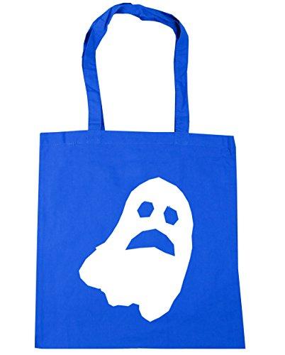 hippowarehouse Halloween Ghost Tote Shopping Gym Beach Bag 42cm 3838, 10Liter Gr. Einheitsgröße, Kornblume (Beach Costume Boys Halloween)