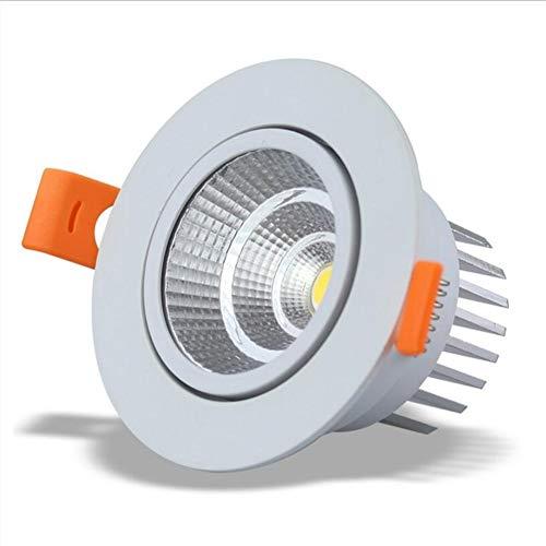 HYX 5W (110mm) LED Downlight LED Chip Directional Retrofit Deckeneinbau Kann Lichtleisten Warmweiß 3000K-3500K Halogenlampen Äquivalent -
