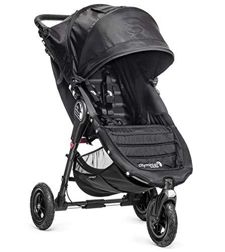 Baby Jogger City Mini GT - Silla de paseo, Negro / Negro