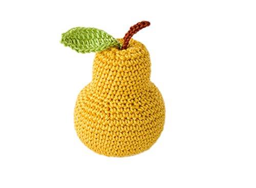 DELEY 1 STÜCK Baby Kinder Spielzeug Häkeln Gestrickt Gemüse Obst Fotoshooting Requisiten Birne