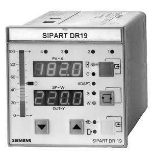 6DR1900-4-INDUSTRIEREGLER SIPART DR19 96MM*96MM GRUNDGERAET mit K-AUSGANG und S-