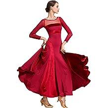 1a0b87960a C X Mujeres Moderno Vals Tango Vestido De Baile De Salón Traje De Baile De Salón  Estándar