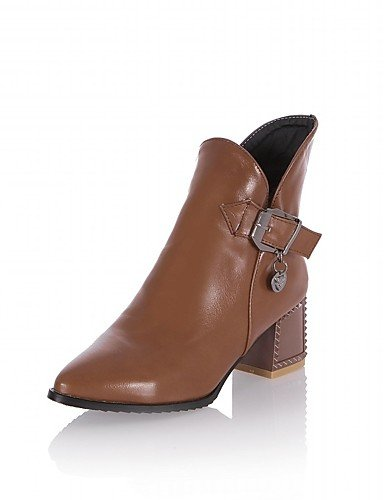 ShangYi Mode Frauen Schuhe Damen Schuhe Frühjahr / Herbst / WinterHeels / Cowboy Western Stiefel / Boots / Schnee / Mode / Schuhe / Stiefel Motorrad Gelb
