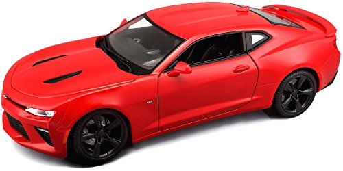 Welly Chevrolet Camaro ZL 1 in dunkel rot ca 12 cm lang