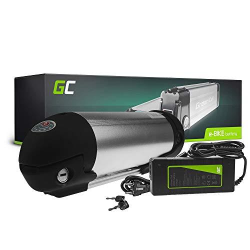 GC® Batería E-Bike 36V 11.6Ah Bicicleta Eléctrica Bottle Li-Ion con Celdas Panasonic y Cargador DBS...