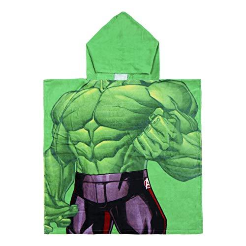 Cerdá 2200003875 Poncho Algodón Avengers Hulk Verde...