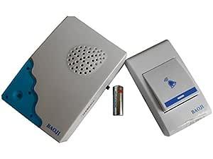 Veera Plastic Wireless Remote Control Door Calling Bell