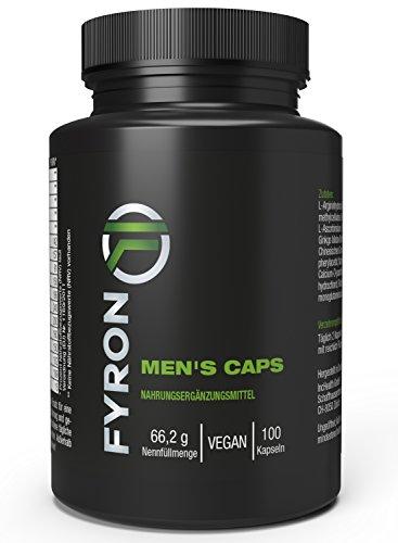FYRON MENs - Fruchtbarkeit | Testosteronspiegel | Sperma - 100 Kapseln