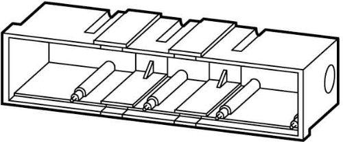 Eaton 216551Campana, para empotrable para placa, 4espacios
