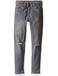 Kensie Girls' Gray Stretch Denim Skinny Fit Jean