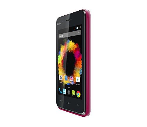 Preisvergleich Produktbild Wiko Sunset Smartphone (10, 2 cm (4 Zoll) WVGA Display (480 x 800 Pixel),  1, 3GHz Dual-Core Prozessor,  2 Megapixel Kamera,  1, 3 Megapixel Frontkamera,  4GB interner Speicher,  512MB RAM,  Android 4.4.2 KitKat) pink