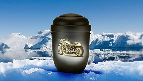 Biologisch abbaubar Verbrennung Asche Urne–Erwachsene Größe–Harley Davidson Motorrad (Motorrad-urne)