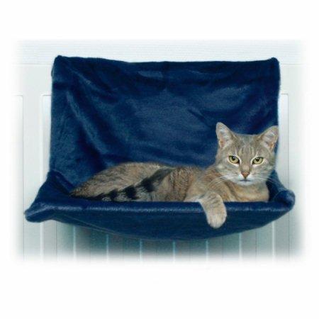 Trixie 4321de luxe lounging amaca peluche 45x 24x 31cm bianco sporco