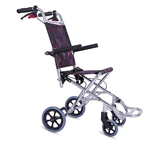 Banluo Flugzeug-Rollstuhl alle Aluminiumlegierung faltbar freies Installationslicht tragbar