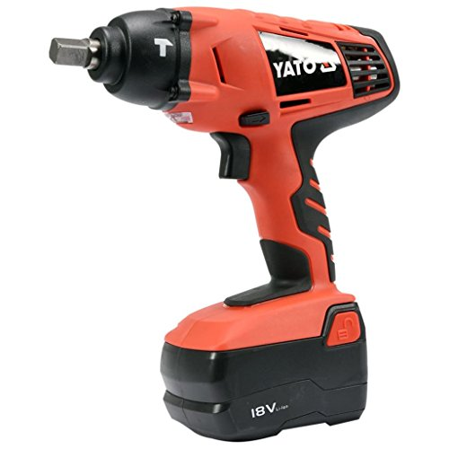 Yato yt-82931 – Cordless Impact Wrench Set with Sockets