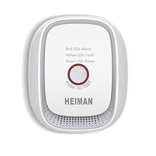 HEIMAN Zigbee Detector alarma fuga gas HS1CG