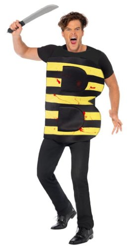 Killer Kostüm Für Erwachsene Bee - Smiffys Killer Bee - Adult Kostüm