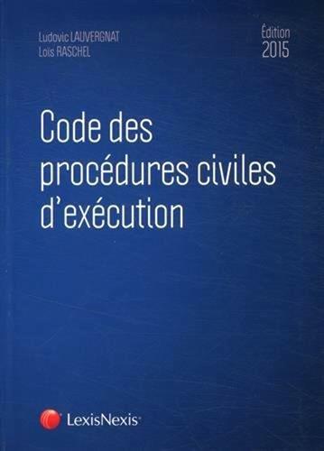 Code des procédures civiles d'exécution