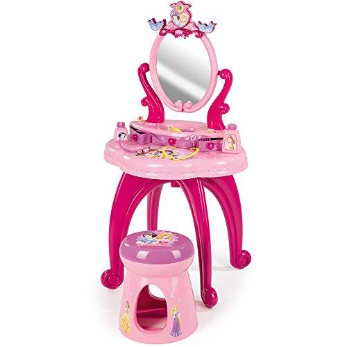 Friesiersalon Disney Princess, 34×91 cm, mit großem Spiegel und Zubehör: Kinder Frisier Tisch Set Schminktisch Kosmetik Spielzeug - 2