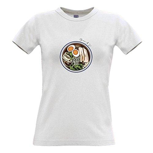 deln Lebensmittel Tasty Asian Kawaii Eier Gemüse Gesunde Frauen T-Shirt (Braten Cosplay)