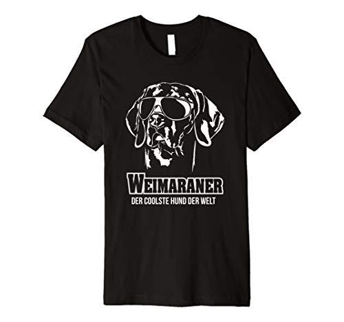 Weimaraner cooler Hund T-Shirt Hunde Spruch Shirt Geschenk -
