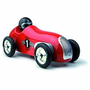 Vilac - 2286R - Véhicule Miniature en Bois - Old Sport - Rouge
