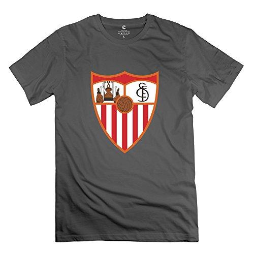Asuka Sky Men FC Sevilla Personalized Cool DeepHeather T-Shirt By Mjensen