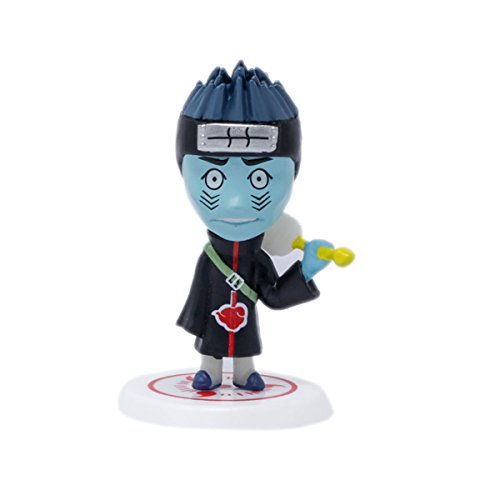 Tootpado Anime Action Figures 3 Inch Tall - Cyan (1TNG170) - Highly Detailed Collectable Toys