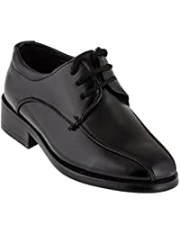 Zapatos de vestir para niño, color blanco o negro
