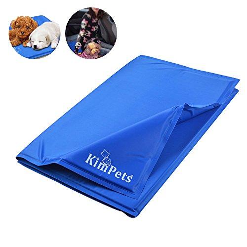 Kühlmatte Pad Hunde Katzen Haustiere, Self Cooling Gel Pad Bett für den Sommer, kein Wasser, keine giftigen sicher und sauber