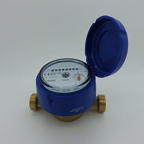 Wasserzähler frostgeschützt neu & geeicht mit UV Schutzhaube