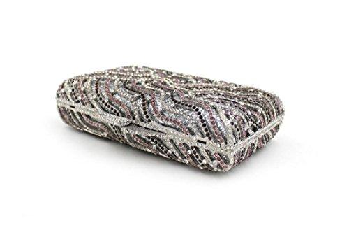 Platz Abendessen Dinner-Paket Europa und den Vereinigten Staaten Diamant Kissenart hochwertigen Vollbohrer bohren Abendtasche 7 Farbe color 5