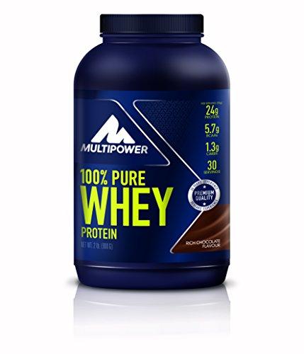 Multipower Blend di Proteine del Siero del Latte, Cioccolato - Barattolo da 900g