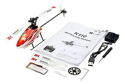 RONSHIN XK K110 Brushless RC Hubschrauber RTF / BNF für Kinder Kinder Lustige Spielzeug Geschenk RC Drones Outdoor K110 Without Remote Control