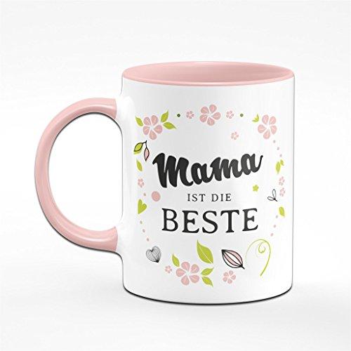 Mama ist die Beste - Tasse - Kaffeetasse- Geschenk für die Mama - 2