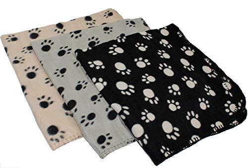 Hemore 70 x 70 cm Weiche Haustierdecke Sofa Decken Waschbar Matte Flauschige Tierdecke Liegedecke für Hund und Katze Zufallige Farbe