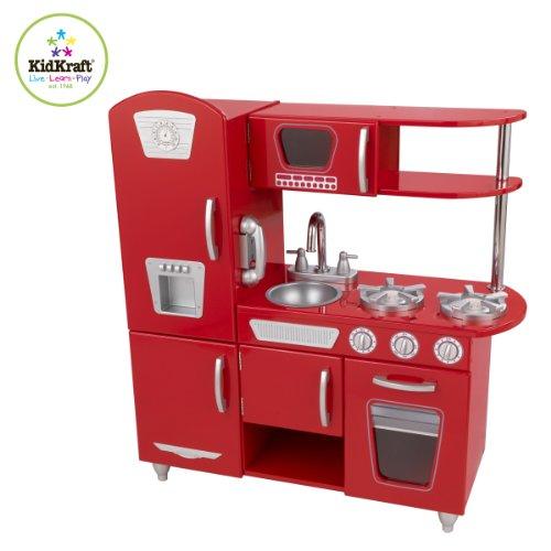 KidKraft 53173 - Cucina Vintage, Rossa