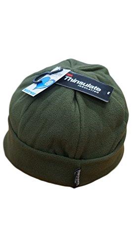 CAPPELLI & BERRETTI Set 2Stück Kopfhörer Mütze Unisex Einheitsgröße Fleece Thinsulate Hüte & Mützen, militär-grün