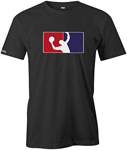 Basketball Logo - Sport Hobby - Herren T-SHIRT in Schwarz by Jayess Gr. L (Logo T-shirt Company)