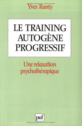 Le training autogène progressif