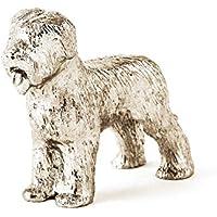 Cane da Pastore di Brie Made in UK, Collezione Statuetta Artistici Stile Cani - Cane Antico