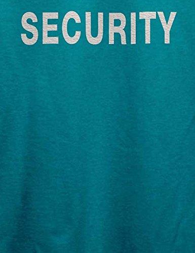 Security T-Shirt Türkis