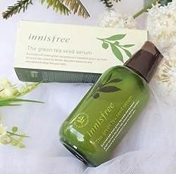 Innisfree Green Tea Seed Serum 80ml Organic Skin Cosmetic Cream from JEJU Island hails from Innisfree